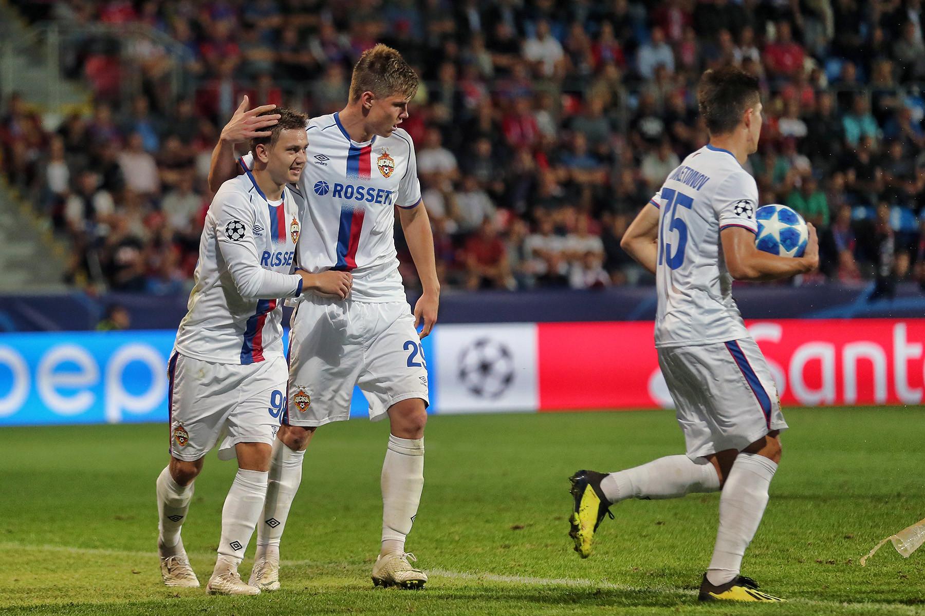 Упустили победу! Новый ЦСКА освоился в Лиге чемпионов за тайм
